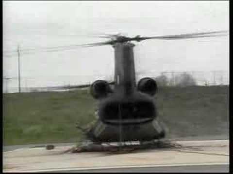 Rezonancia helikopterrel (szemből)