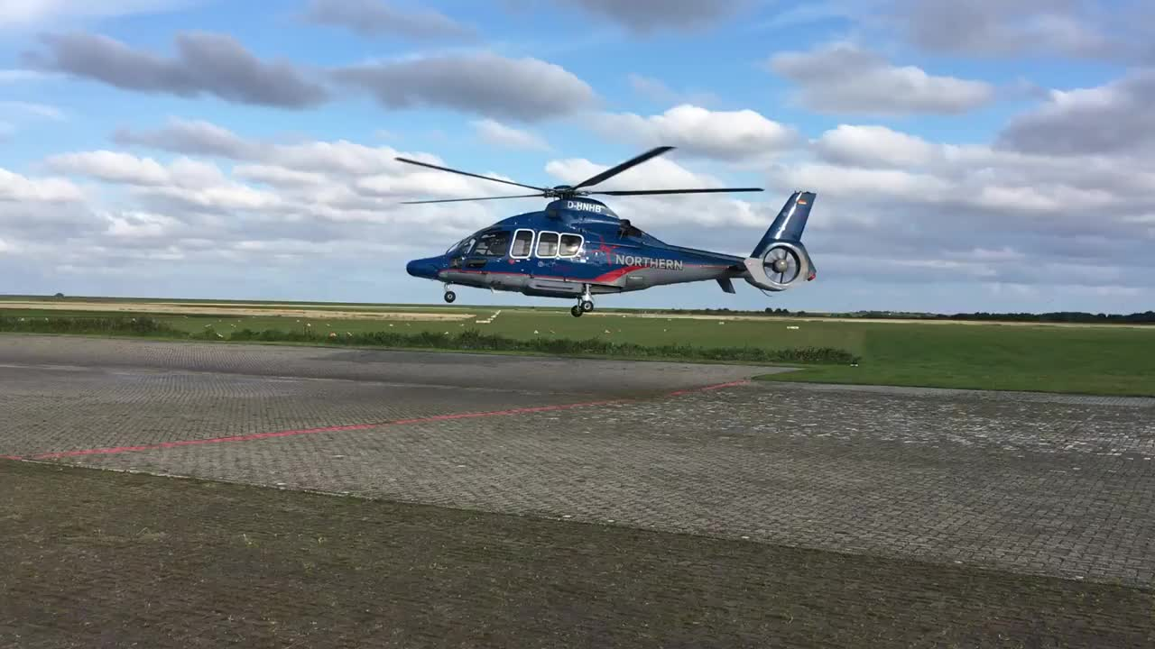 Helikopter repülése